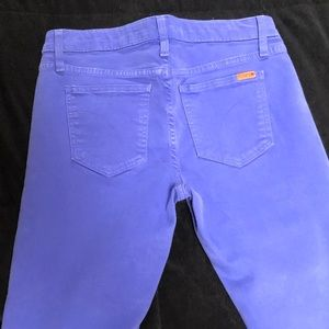Purple skinny Joes Jeans
